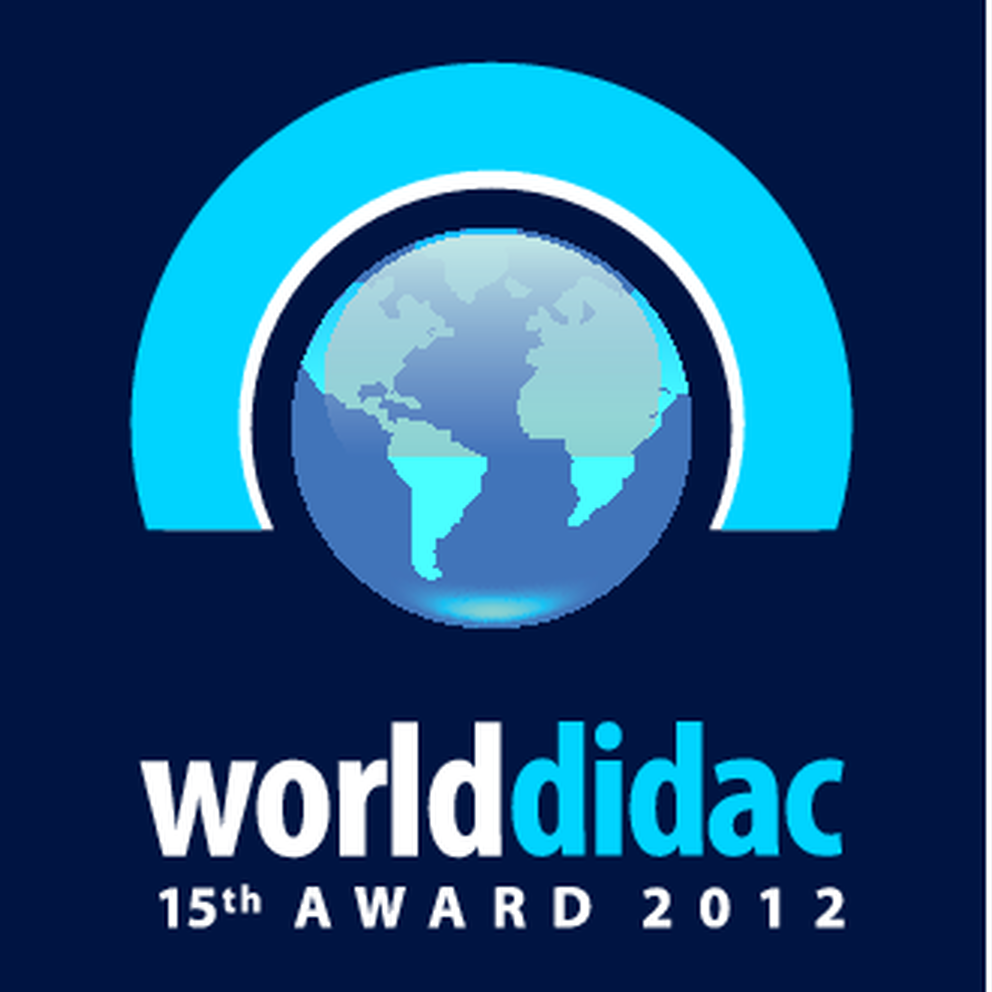 15th Worlddidac Award logo